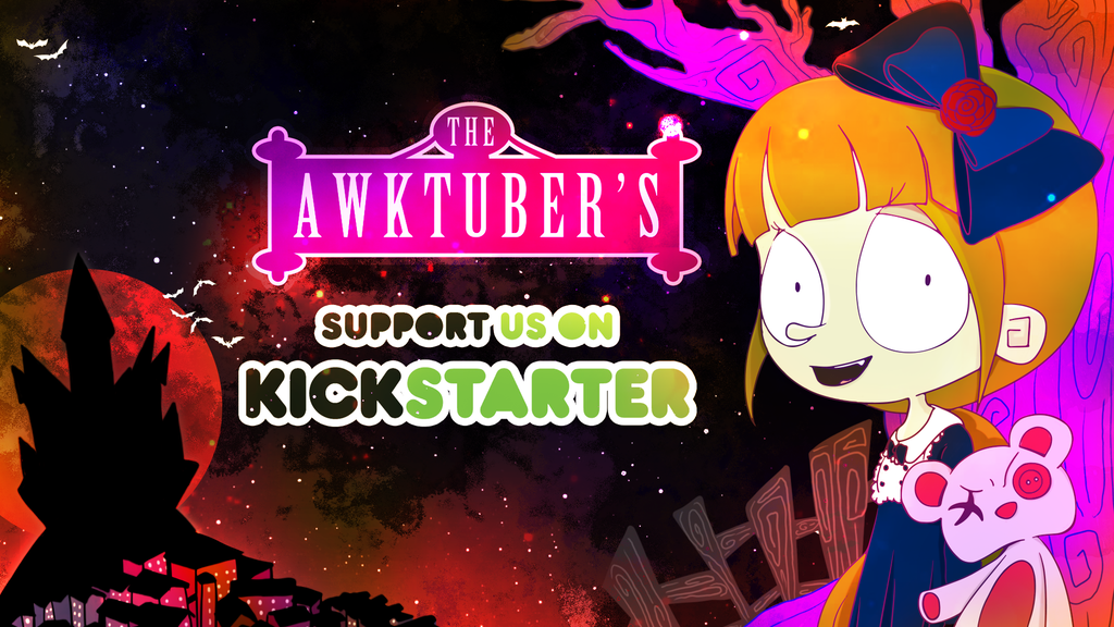 Project image for The Awktuber's : A 2D Children's Animated Web & Book Series