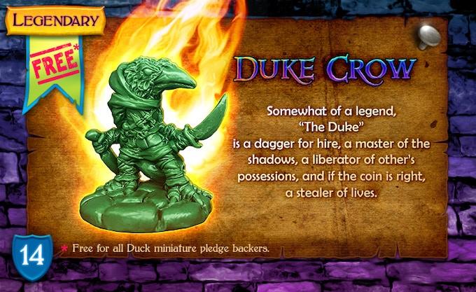 Legendary Hero Unleashed: Duke Crow!