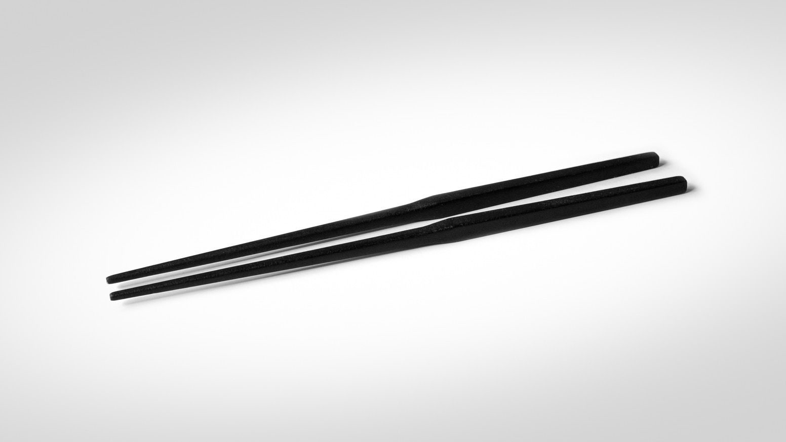 The world's most innovative chopsticks with levitating eating tips.
