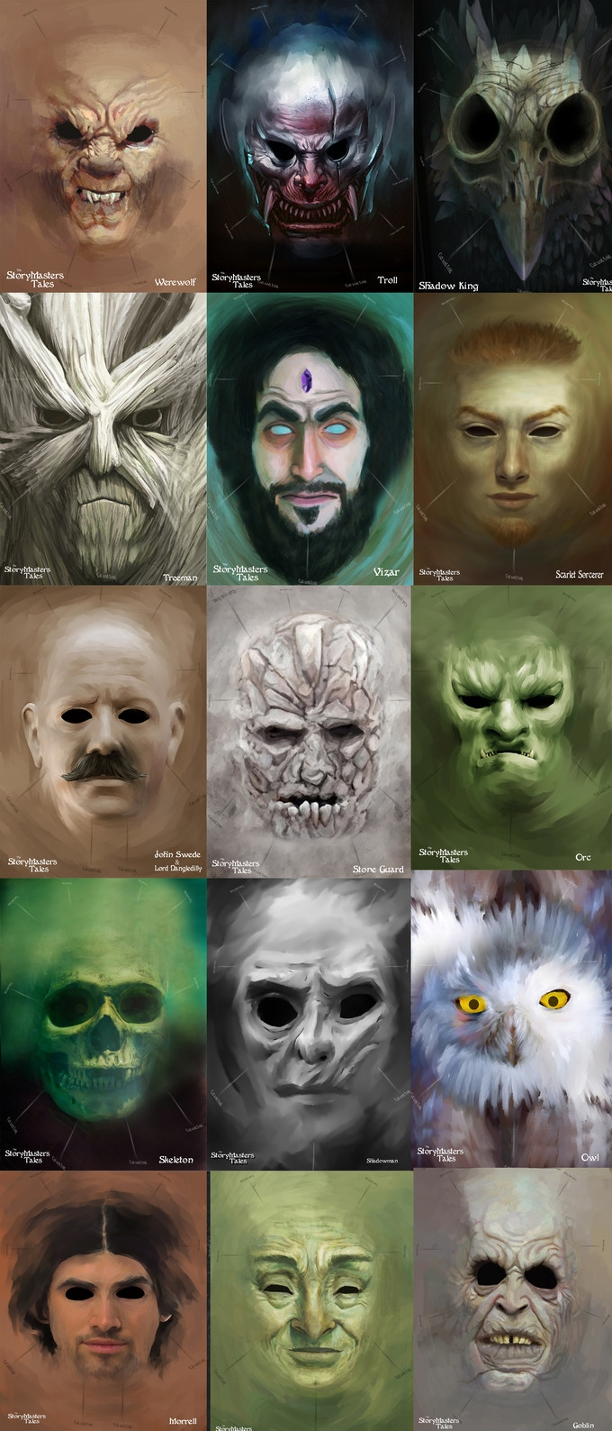 Some of the Mask Designs
