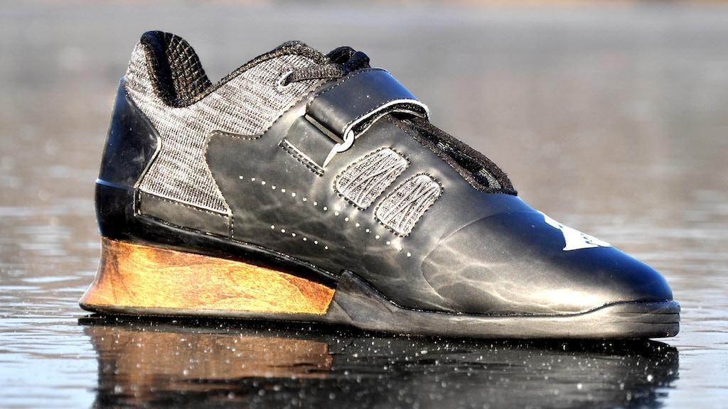 2b7cf7ad3be7 Olympic Weightlifting Shoe  Velaasa Strake by Lynden Reder — Kickstarter