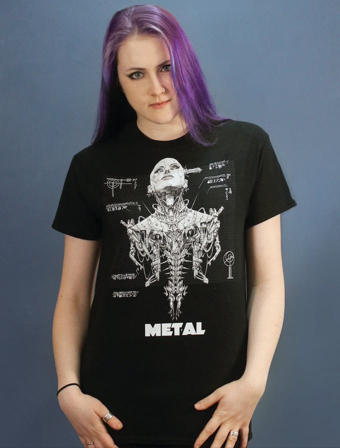 """Metal"" T-shirt"