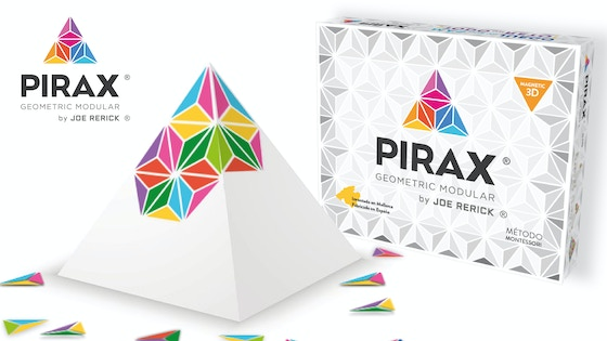 PIRAX ® Geométric Modular Game, 3D Magnétic, Joe Rerick ®