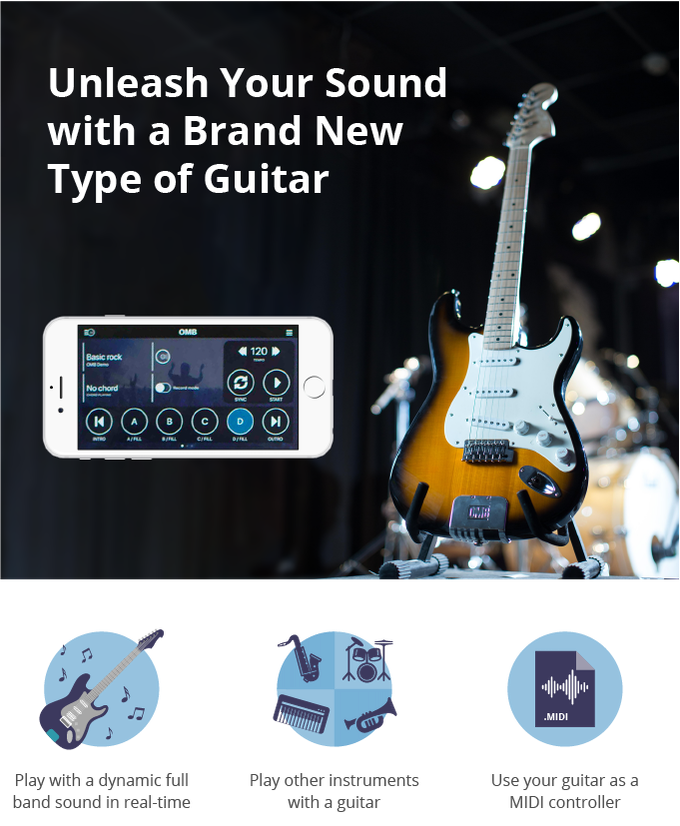 Onemanband Omb A New Way To Play Guitar By Onemanband Kickstarter