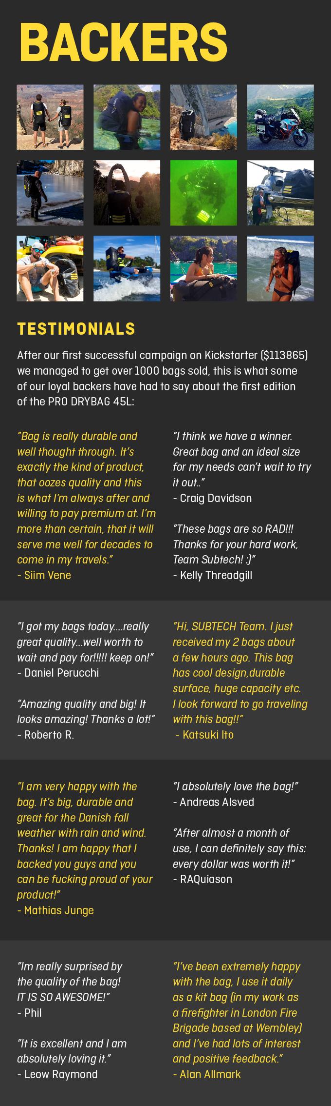 AWARD-WINNING PRO DRYBAG 2 0 by SUBTECH SPORTS — Kickstarter