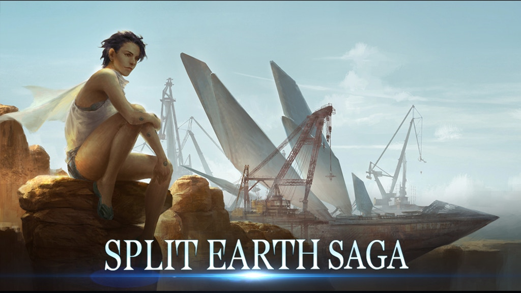 SPLIT EARTH SAGA: Where Fantasy Becomes Futuristic project video thumbnail