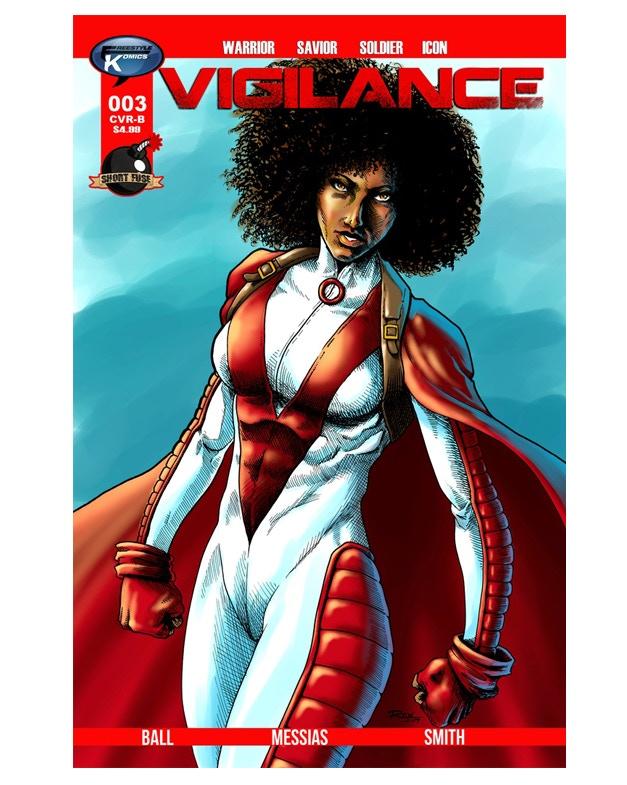 "Vigilance #3 CVR B ""Natural  Beauty"" Variant by Ren McKinzie"