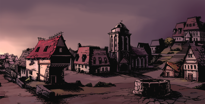 The Gothic Architecture of Penumbra. Art by Jovina Chagas.
