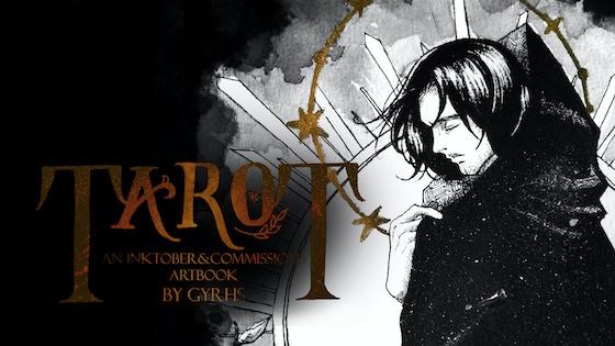TaroT: An Inktober + Commissions artbook