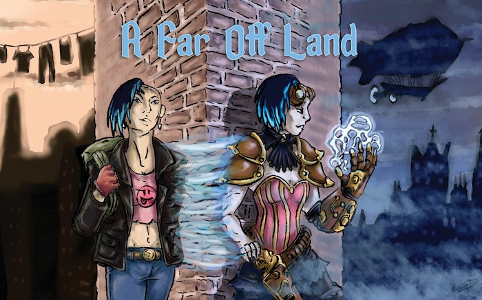 An RPG where modern meets mythic fantasy in two imperiled worlds, where the intrigues of the Courts & Factions play out.