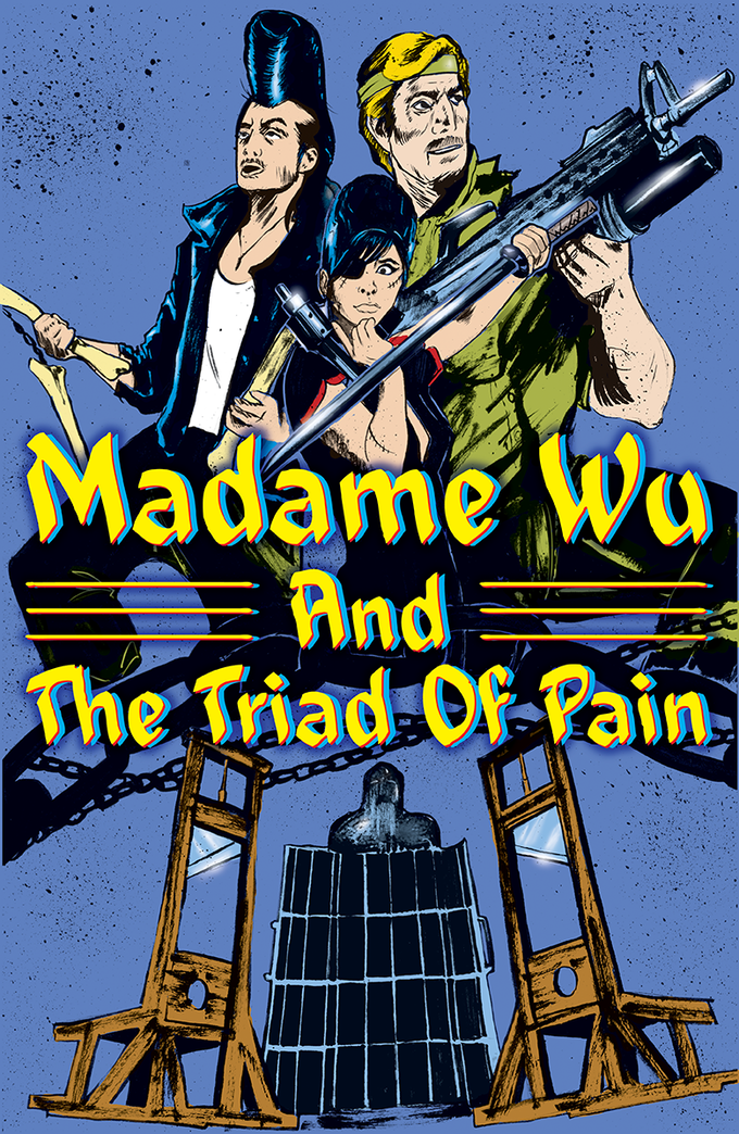 """Rare poster for """"Madame Wu and the Triad of Pain"""""""