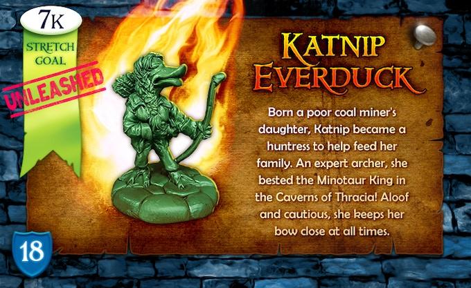 7k Stretch Goal Unleashed: Katnip Everduck!