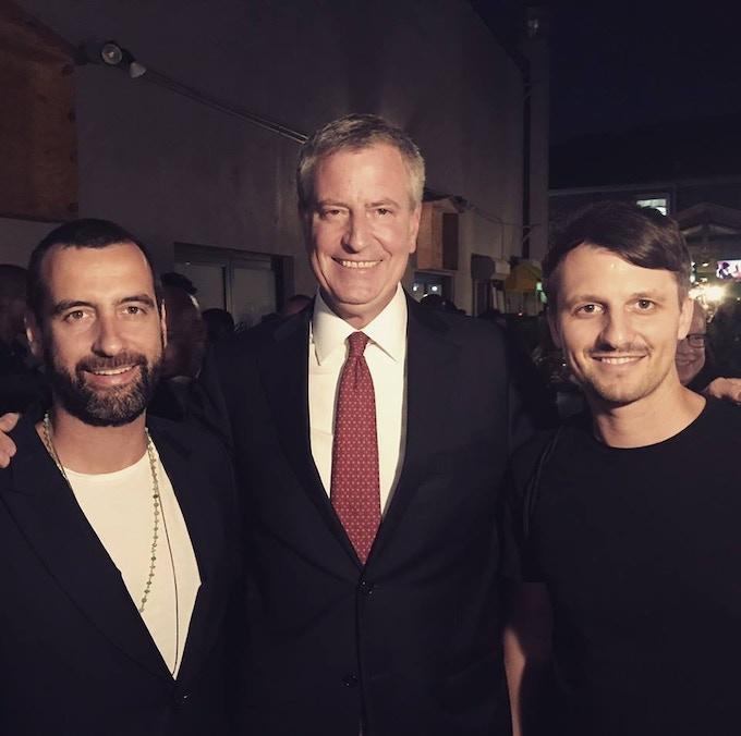 Lutz and Mirik meet the mayor!