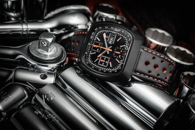 Matte case Automatic Version E all black