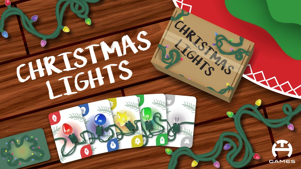 Christmas Lights Card Game: Relaunch