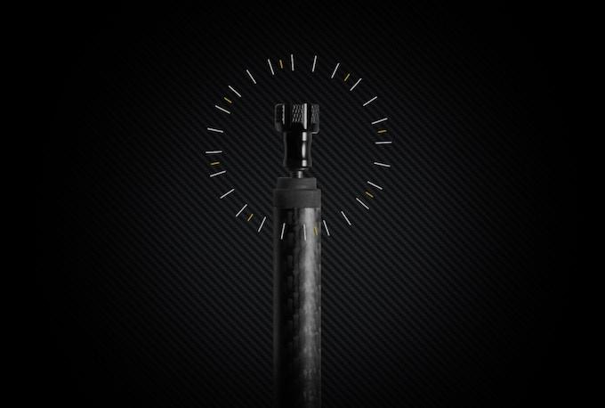 Integrated Spare GoPro Locking Screw