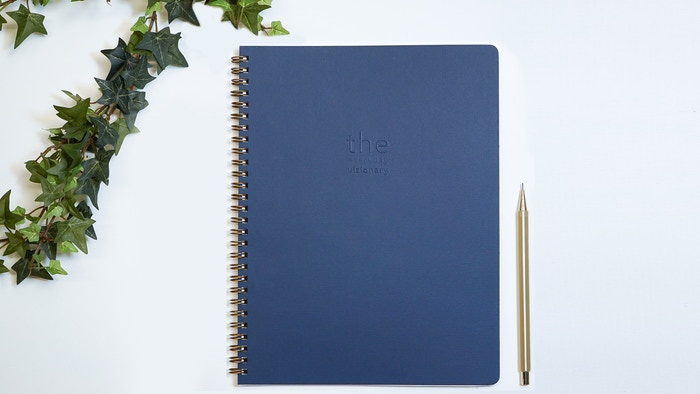 The daily planner for creative professionals who have a sense of purpose and a lack of patience when it comes to achieving career goals.