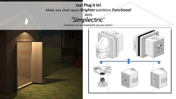 Simplectric - Your DIY Solution to storage shed electricity