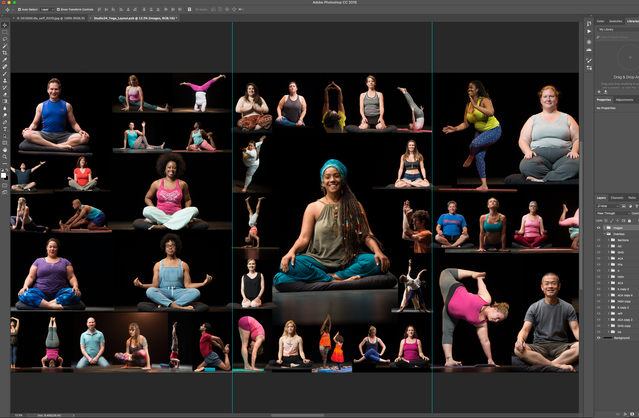 The Image of Yoga – exhibit opens Saturday!