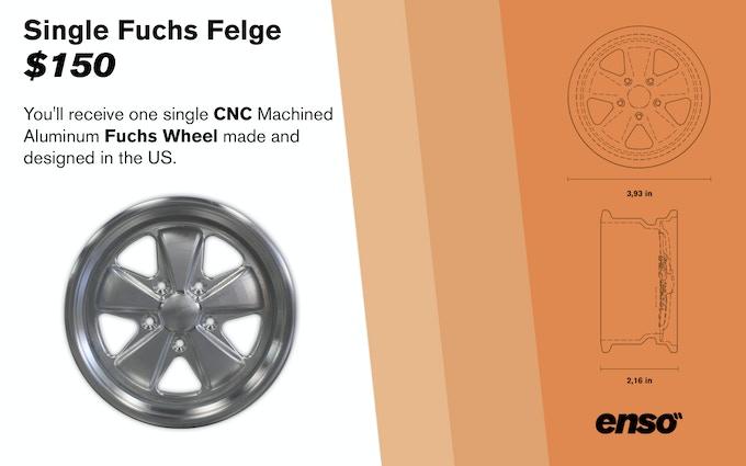 Single Fuchs Felge