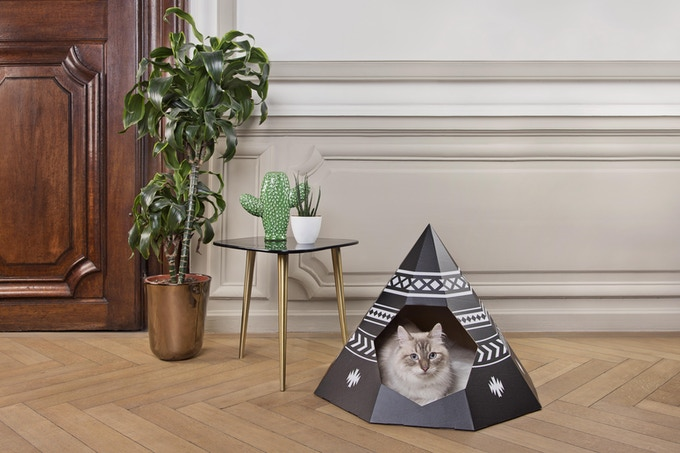 cat tipi black