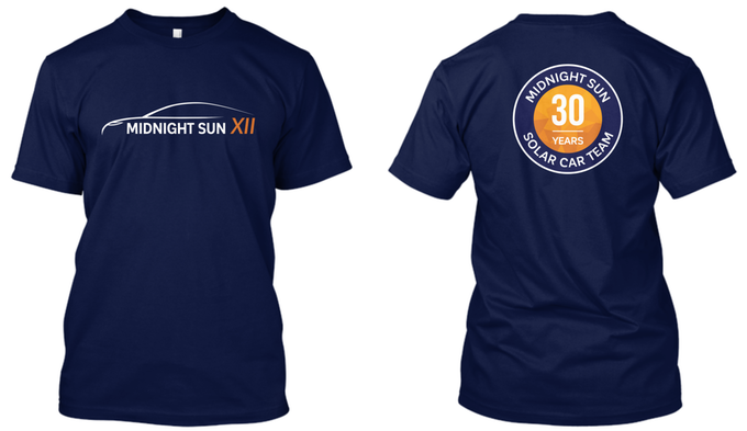 MSXII T-shirt - Pledge $75 or more