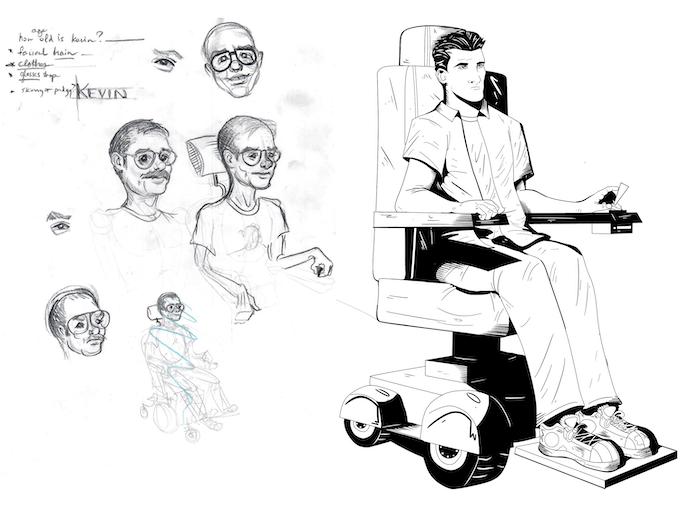 Kevin Stout concept art