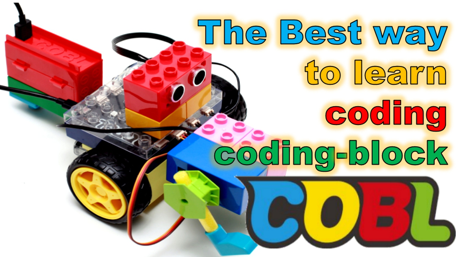 Coding-Block! COBL, Learn and Make Whatever You Want