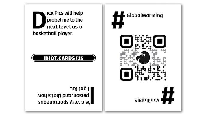 Idiöt Cards Has Halved The Carbon Footprint of Similar Games