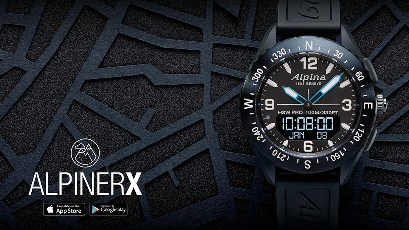 les ventes chaudes riche et magnifique techniques modernes AlpinerX - The Most Beautiful Outdoors Smartwatch by Alpina ...
