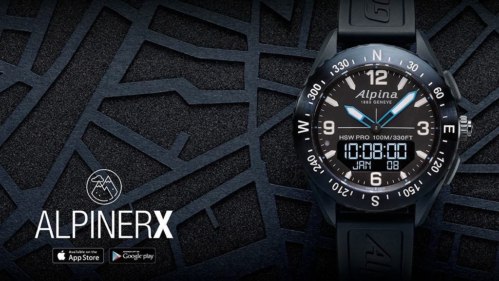 AlpinerX - The Most Beautiful Outdoors Smartwatch project video thumbnail