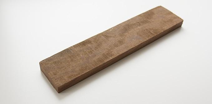 Milan wood keepsake #2: 1.875 x 9 x .5 in.