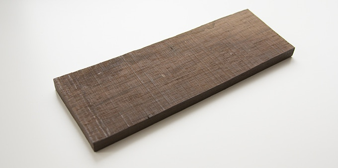Milan wood keepsake #3: 2.75 x 8 x .375 in.
