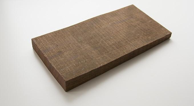 Milan wood keepsake #8: 3.5 x 7.125 x .375–.75 in.
