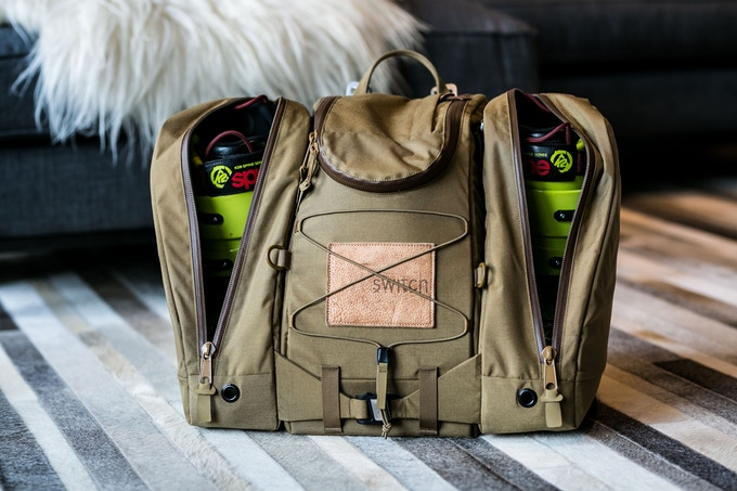 The Boot Bag Transformative Ski Boot Gear Bag By Switch