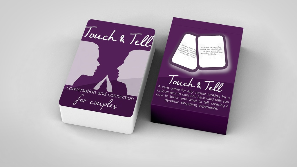 Touch & Tell - Connection Card Game for Couples