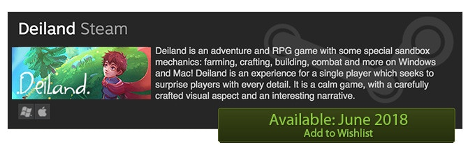 Deiland - RPG, adventure and sandbox game in a little planet by