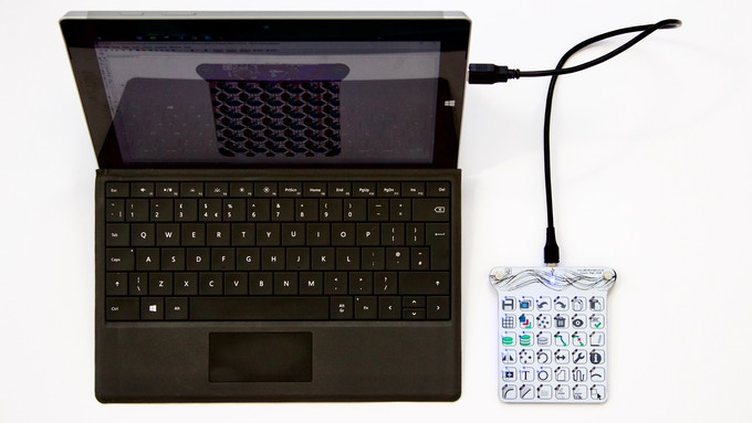 TouchPad - The Arduino-compatible, customisable keyboard  by