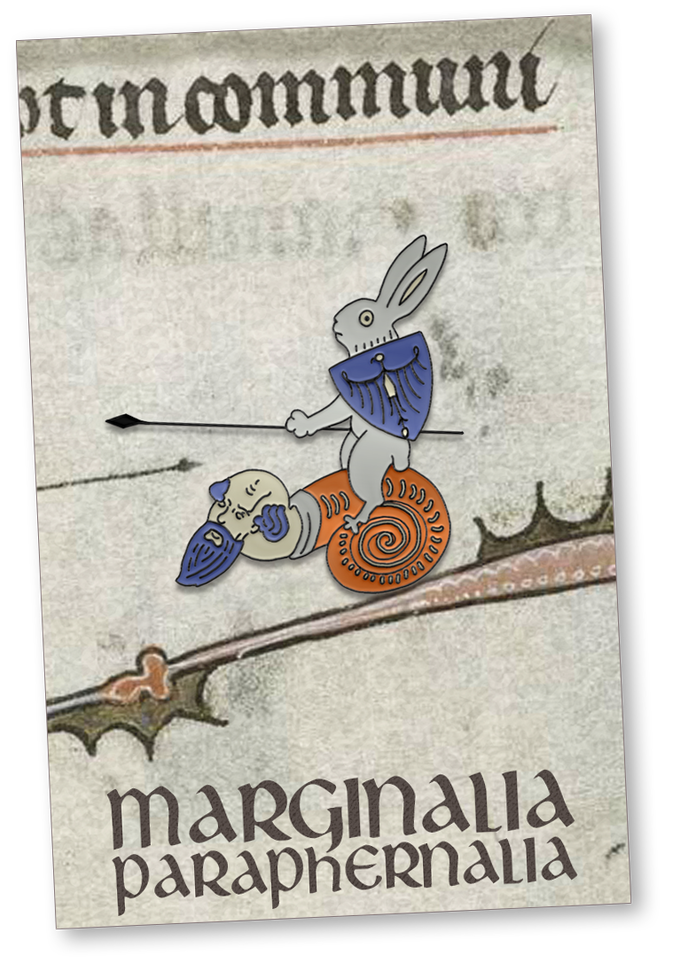 Jousting Bunny Design and Backing Card