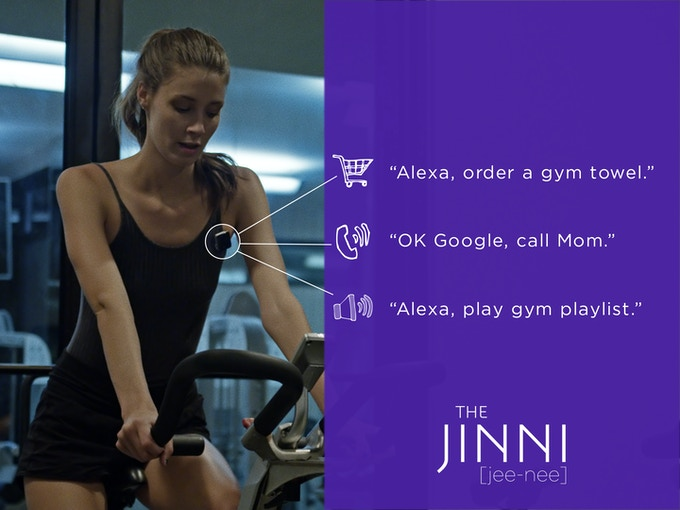 Jinni is great at the gym with its built-in clip.