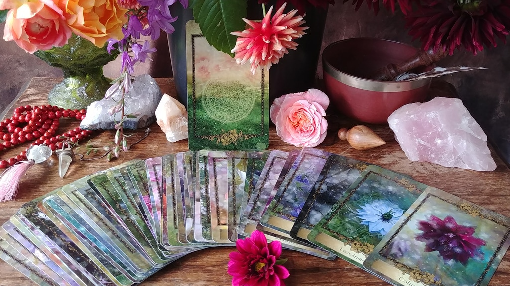 Alchemy Flower Oracle ~ Messages from Flowers project video thumbnail