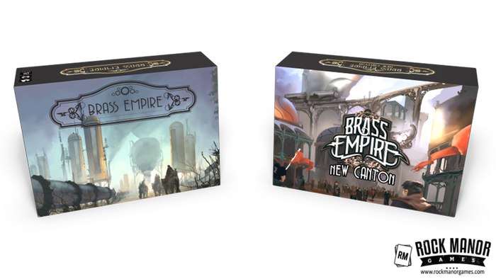 Build a corporate empire and play through an epic story-driven campaign in the 1st expansion to Brass Empire: A Steampunk Deckbuilder