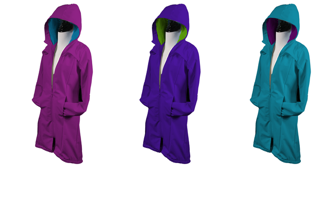 Swimpowerment Wotter The First Swim Parka Made For Girls By