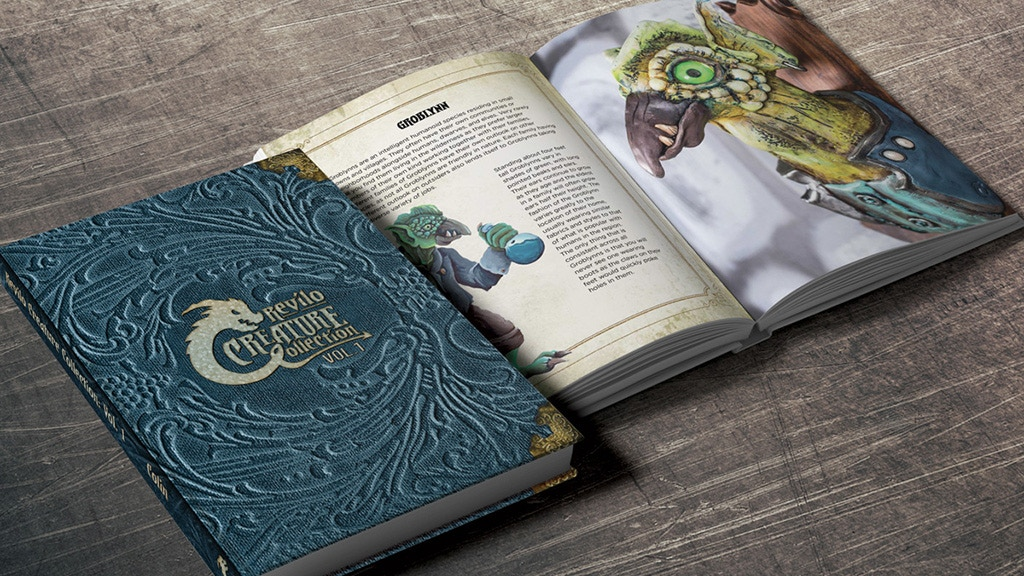 Revilo Creature Collection – A fantasy art book and bestiary project video thumbnail
