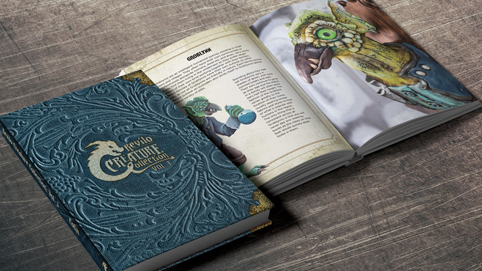 Revilo is a world I created for my son, to teach world building. This book is filled with the species that we have discovered so far.