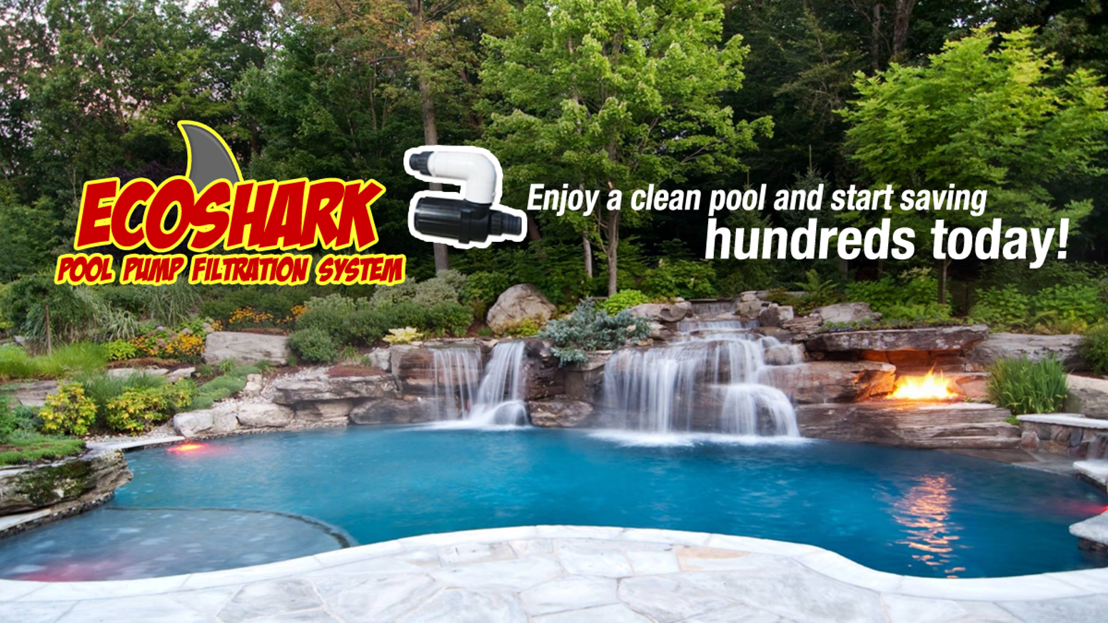 Ecoshark Pool Pump Money Saving Water Filtration System