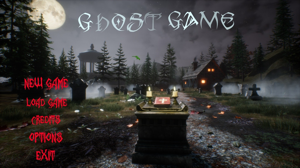 GHOST GAME Game project