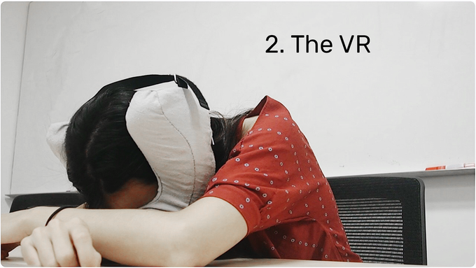 the VR