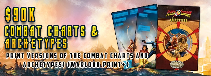 High Resolution PDF for everyone, Print for Warlord Print & Higher Pledge Levels!