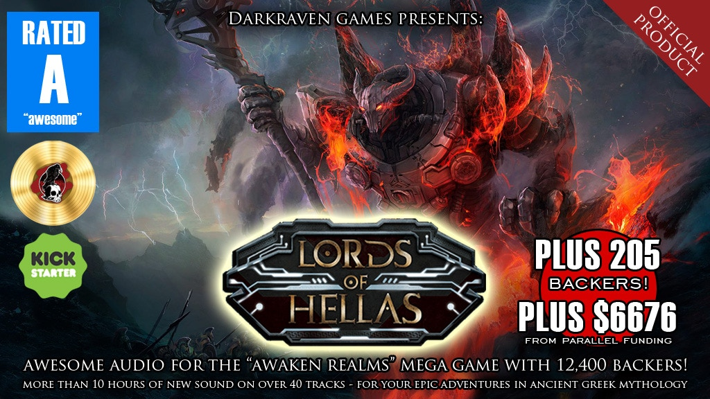 """""""Lords of Hellas"""" Audio: Official Product by Darkraven Games project video thumbnail"""